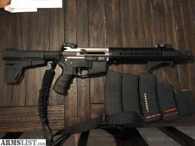 For Sale/Trade: .300 ACC BLK AR Pistol 1100 obo