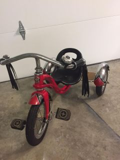 Adorable Schwinn roadster tricycle, firm on price