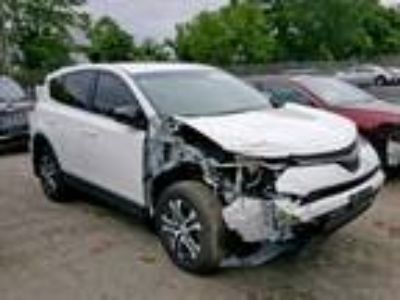 Salvage 2017 TOYOTA RAV4 LE for Sale
