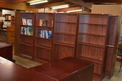 Good Selection of Bookcases 3' x 6' 119.00