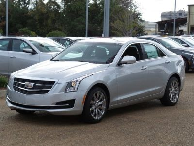 2017 Cadillac ATS 2.0T Luxury (Radiant Silver Metallic)