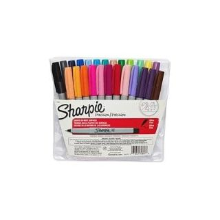 NEW-Sharpie Permanent Markers, Ultra Fine Point, Assorted Colors - Open Pack of 23