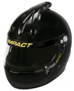 Purchase IMPACT RACING 17699610 SS AIR HELMET XLARGE BLK SA2010 motorcycle in Moline, Illinois, US, for US $434.99