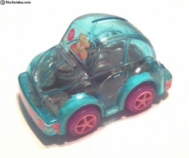 Stylized VW Beetle Piggy Bank