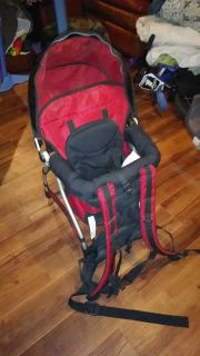 Baby toddler hiking carrier backpack high chair