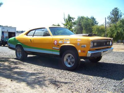 1970 PLYMOUTH DUSTER WAS 340 4 SP w/ ENGINE/TRANS
