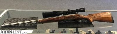 For Sale: Savage Model 12 .300 WSM bolt action rifle Fluted Bull Barrel Vortex Crossfire II scope #7015