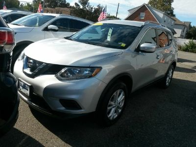 2015 Nissan Rogue AWD 4dr SV LIFETIME WARRANTY (Brilliant Silver)