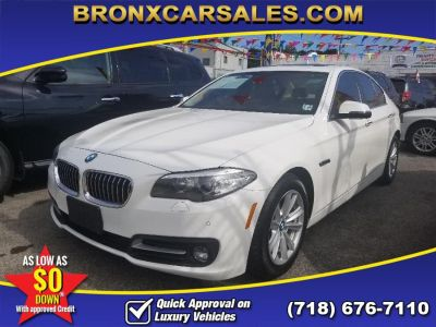 2015 BMW 5-Series 4dr Sdn 528i xDrive AWD (Alpine White)