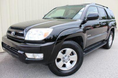 2005 Toyota 4Runner Limited (BLACK)