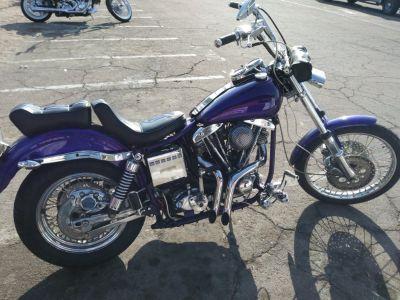 Harley-Davidson shovelhead 1974
