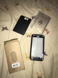 New galaxy S6 water resistant case and interchangeable backs $2 for all