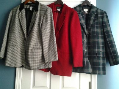 Ladies Wool Blazers (price each)