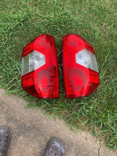 Toyota Tundra taillights