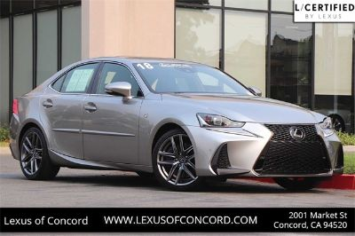 2018 Lexus IS 300 (silver)