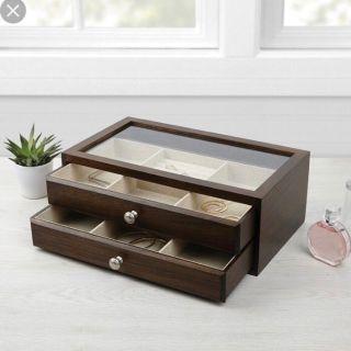 Bella Jewelry Box - 2 Sliding Storage