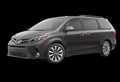 2018 Toyota Sienna Limited Premium (Predawn Gray Mica)