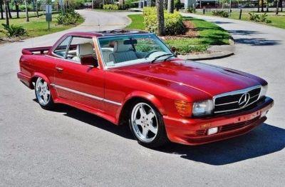 1984 Mercedes-Benz 500SL Lorimar Body And Trim Pkg