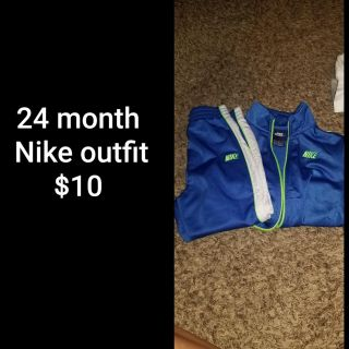 24 month Nike outfit