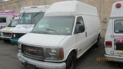 Buy 2002 GMC SAVANA / EXPRESS hitop, 5.7L Engine , transmission, hi top raised motorcycle in Philadelphia, Pennsylvania, US, for US $2,900.00