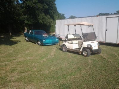 Drag Race Package-Golf Cart Sold