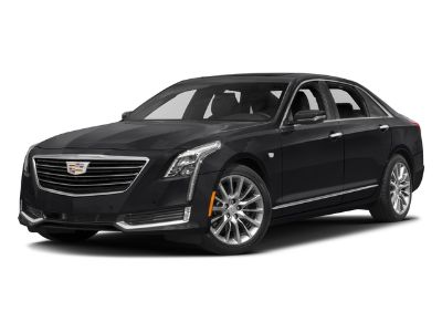 2018 Cadillac CT6 3.6L Level Three AWD (White)