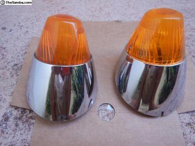 Ghia Front Turn Signal Set W/Lens