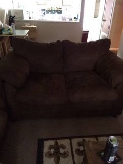 COUCH AND LOVESEAT FOR SALE Factory warranty