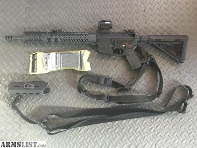 For Sale: Spikes Tactical lower/Adams arms upper AR15 with extras