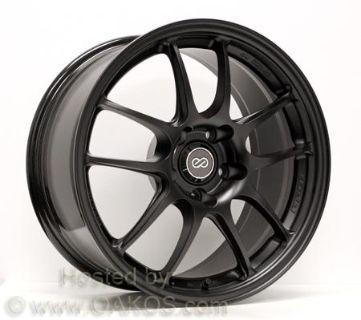 Sell Enkei PF01 Wheels 18x9'' 5x114.3 45mm BLACK Subaru STi Rims 460-890-6645BK motorcycle in Sterling Heights, Michigan, US, for US $1,458.00