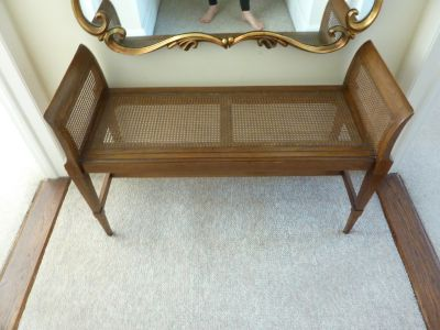 Solid Cherry Wood Bench