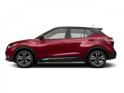 2018 Nissan Kicks SR (Cayenne Red/Super Black)