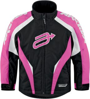 Purchase Arctiva Comp 7 Pink Youth Kids Insulated Snowmobile Jacket Snow Mobile motorcycle in Ashton, Illinois, US, for US $135.00