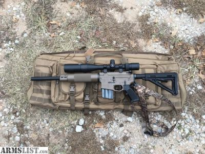 For Sale: Bull barrel ar15 sun devil