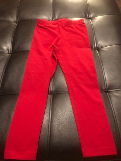Size 6 circo red stretchy pants