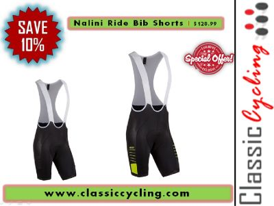 Perfect Fit Cycling Bib Short | Nalini Ride Bib Shorts 2017