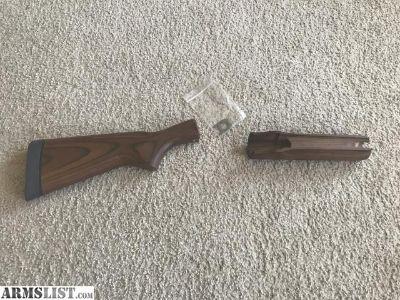 For Sale: Remington 870 20 Gauge Wood Furniture, stock bolt, spacer