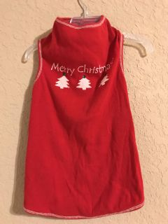 Brand New Merry Christmas With Bling On The Dog Sweater Shirt. Perfect Condition. Size XL