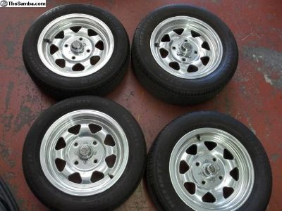 EMPI early style 4 bolt Rims & Tires