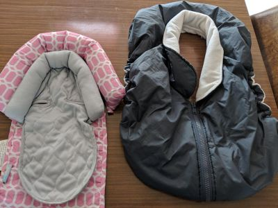 Car seat insert and cover