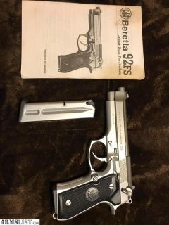 For Sale/Trade: Beretta 92fs with stainless controls