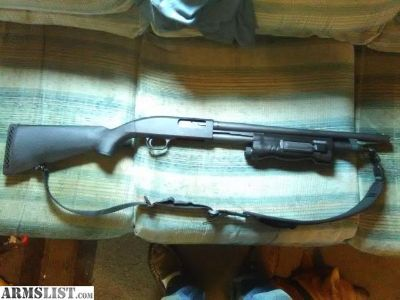 For Sale/Trade: Mossberg 500 with integrated light