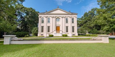 Stunning Palladian Home with Pool and Tennis Court in Mobile!