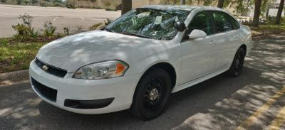 2012 Chevrolet Impala Police (White)
