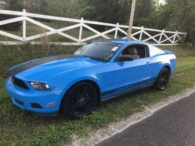2010 Ford Mustang V6 Premium (Blue (Light))