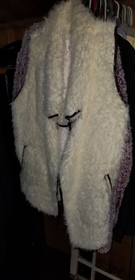 Faux Fur Vest XL from Cracker Barrel