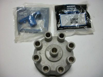 Sell new ( 1 ) mercury marine 393-4988t distributor cap ( 2 ) quicksilver rotor 65864 motorcycle in Key Largo, Florida, US, for US $30.00