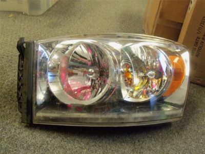 Find 2007-2010 OEM DODGE RAM 1500 2500 LH DRIVER SIDE HEADLIGHT 68003125AD motorcycle in Bixby, Oklahoma, US, for US $99.99
