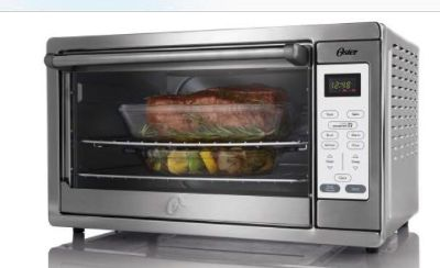OSTER DESIGNED FOR LIFE extra large convection oven! A wonderful size, can fit enough for a full dinner and is a CONVECTION, so it s fast