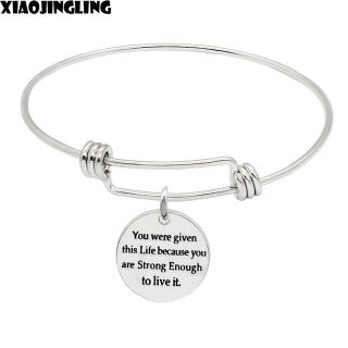 CLEARANCE ***Ladies Inspirational Bracelet***You Were Given This Life....